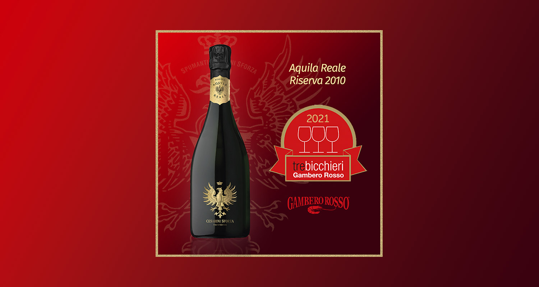 Aquila Reale Riserva - Tre bicchieri 2020 Gambero rosso